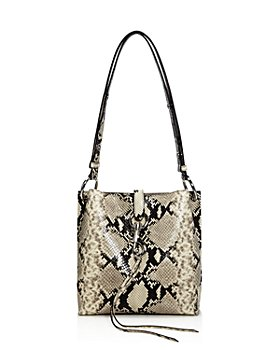 Rebecca Minkoff - Megan Small Snake-Print Feed Bag - 100% Exclusive