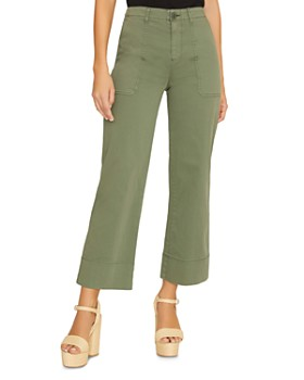 Sanctuary - Unearthed Patch-Pocket Wide-Leg Pants