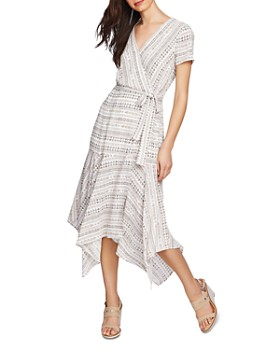 1.STATE - Rustic Wrap-Front Dress