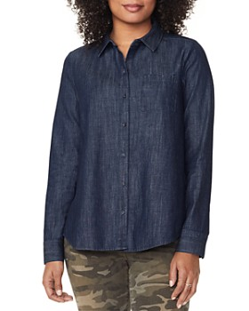 NYDJ - Chambray A-Line City Shirt