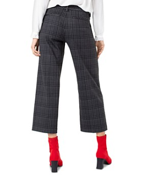 Liverpool - Kelsey Plaid Stovepipe Pants