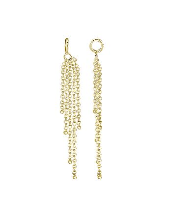 AQUA - Fringe Drop Charm in 18K Gold-Plated Sterling Silver or Sterling Silver - 100% Exclusive