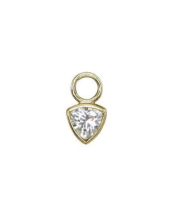 AQUA - Trillion-Shape Charm in 18K Gold-Plated Sterling Silver or Sterling Silver - 100% Exclusive