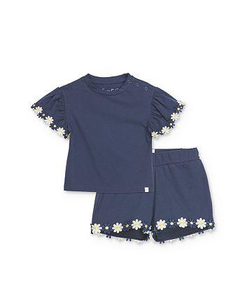 Sovereign Code - Girls' Susan + Sheryl Daisy-Trim Top & Shorts Set - Baby