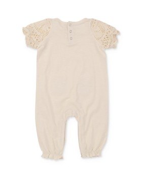 7 For All Mankind - Girls' Eyelet Coverall - Baby