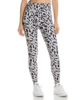 Varley - Duncan Cheetah-Print Leggings