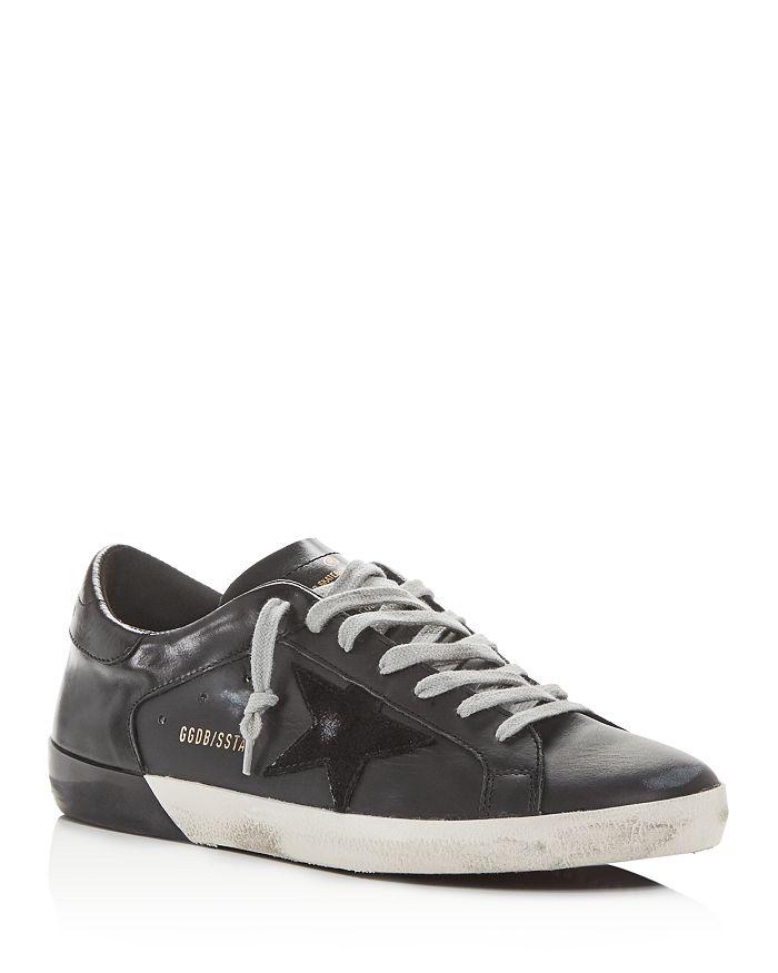 Golden Goose Deluxe Brand - Unisex Superstar Leather Low-Top Sneakers