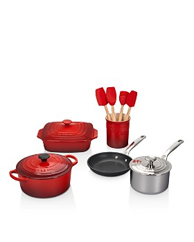 Le Creuset - 12-Piece Mixed Material Cookware Set