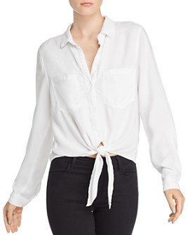 Bella Dahl - Tie-Hem Button-Down Shirt
