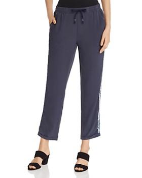 Go by Go Silk - Side-Stripe Cropped Pants