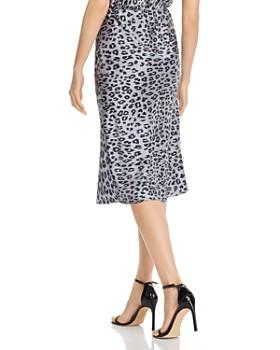 Bardot - Mayah Leopard Print Slip Skirt
