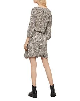ALLSAINTS - Laci Leopard Print Dress