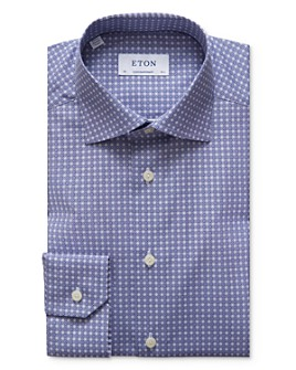 Eton - Circle Print Regular Fit Dress Shirt