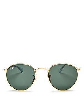 Ray-Ban - Unisex Polarized Round Sunglasses