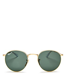 Ray-Ban - Unisex Polarized Round Sunglasses