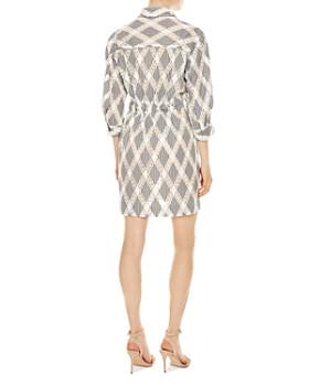Sandro - Celian Geo-Lace Pattern Dress