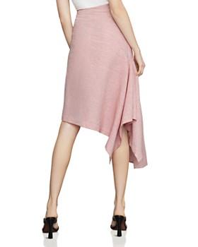 71c390afc0 BCBGMAXAZRIA - Pinstriped Asymmetric Skirt BCBGMAXAZRIA - Pinstriped  Asymmetric Skirt