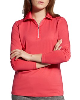 BASLER - Half-Zip Polo Shirt