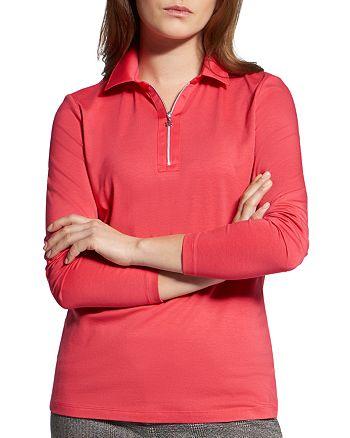 BASLER - Half-Zip Polo Shirt