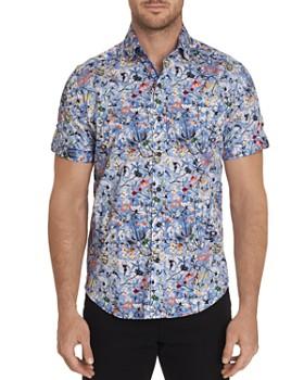 Robert Graham - Greene Short-Sleeve Floral-Print Classic Fit Shirt