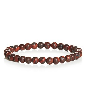 LINK UP - Matte Tiger's Eye Bead Bracelet