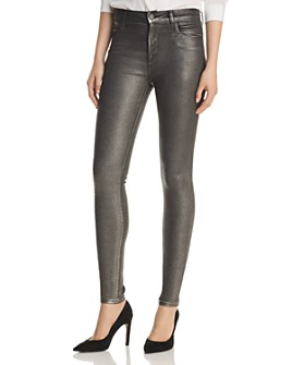 J Brand - Maria Skinny Jeans in Silver Lament
