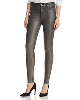 J Brand - Maria Skinny Jeans in Silver Lament