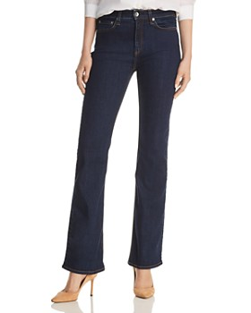 rag & bone - Nina High-Rise Boot Jeans in Marine Blue