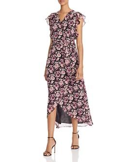 Rebecca Minkoff - Flossie Floral Maxi Wrap Dress
