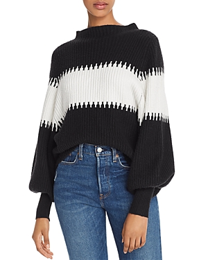 French Connection Sweaters SOPHIA BALLOON-SLEEVE SWEATER