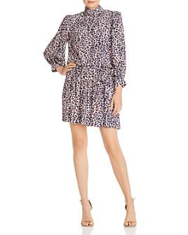Zadig & Voltaire - Robe Rivali Leopard-Print Dress