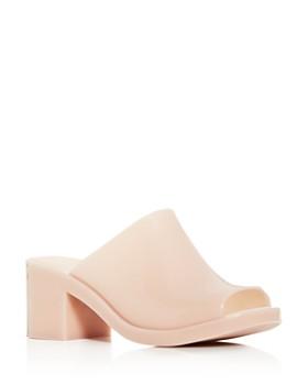 Melissa - Women's Block-Heel Slide Sandals