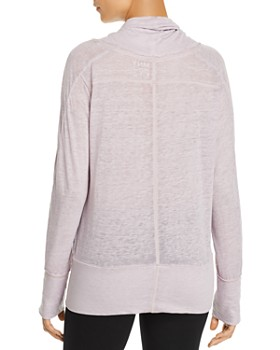 Marc New York - Heathered Jersey Pullover Top