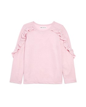 Mini Series - Girls' Ruffled Shimmer Top, Little Kid - 100% Exclusive
