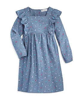 Mini Series - Girls' Floral Chambray Dress, Little Kid - 100% Exclusive