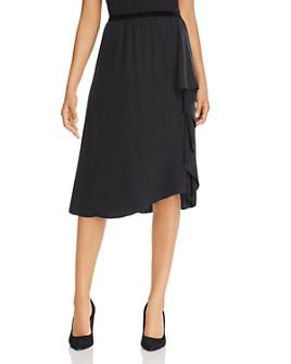 Go by Go Silk - Cascade Ruffle Silk Skirt