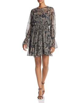 Joie - Manning Paisley-Print Mini Dress