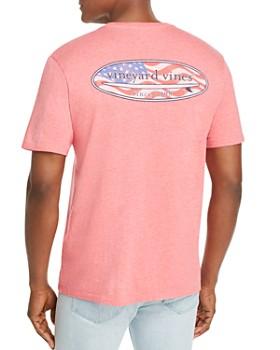 Vineyard Vines - USA Surf Logo-Graphic Pocket Tee