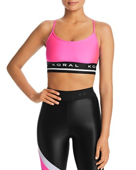 KORAL - Mission Mesh-Back Sports Bra