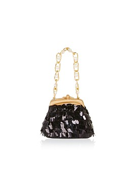 Bloomingdale's - Black Sequin Chain Purse Ornament - 100% Exclusive