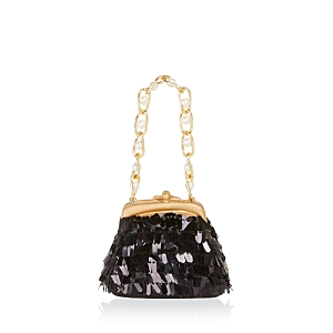 Bloomingdale's Black Sequin Chain Purse Ornament - 100% Exclusive (190089886364 Home) photo