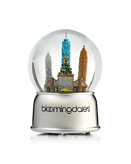 Bloomingdale's - New York City Musical Snowglobe - 100% Exclusive