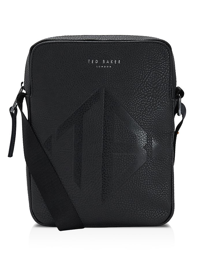 Ted Baker - Trama Embossed Mini Flight Bag