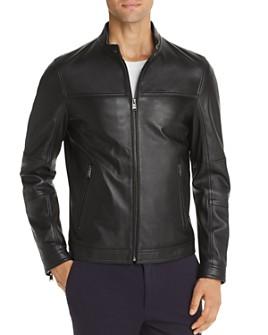 BOSS - Nestem Leather Jacket