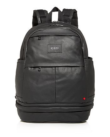 STATE - Lenox Coated Canvas Backpack
