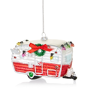 Bloomingdale's Christmas Camper Glass Ornament - 100% Exclusive