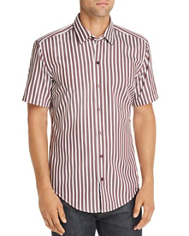 BOSS - Robb Sharp Fit Striped Shirt