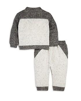 Miniclasix - Boys' Color-Block Jacket, Tee & Pants Set - Baby