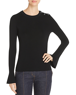 Tory Burch Bijoux Embellished Sweater