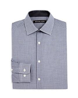 Michael Kors - Boys' Checkered Dress Shirt - Big Kid